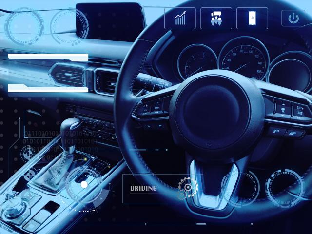 自動車とデジタルサイネージの結ぶ未来